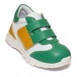 Pantofi copii sport pj shoes Tokyo verde alb 18-26