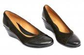Pantofi dama platforma 219 negru 34-41