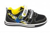 Pantofi sport copii 1026 negru galben 27-32