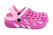 Papuci crocs fete de plaja 1033 roz fuxia 18-35
