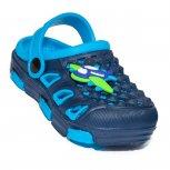 Papuci crocsi baieti de plaja 5668 blu blue 18-35