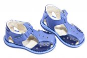 Sandale baieti 345 gri blu