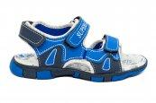 Sandale baieti de vara super gear 1341 albastru 24-35