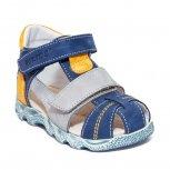 Sandale baieti hokide 405 blu gri galben TA 18-27