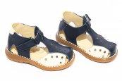Sandale copii 345 blu bej