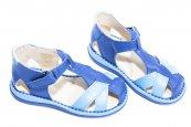 Sandale copii 346 blu gri