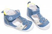 Sandale copii hokide 273 albastru galben