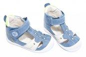 Sandale copii hokide 273 albastru verde