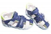 Sandale copii hokide 357 albastru