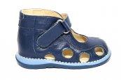 Sandale copii picior lat gros 550 blu 18-25