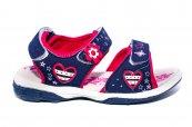 Sandale fete de vara sport 491 mov fuxia 24-35