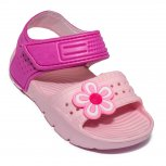 Sandale fete din plastic de vara 1581 roz 24-30