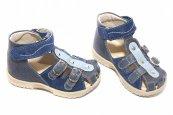 Sandale fete hokide 172 blu bej