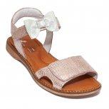 Sandale fete piele pj shoes Ana roz pipit 27-36