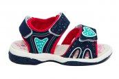 Sandale fete vara super gear 480 blu roz 24-30
