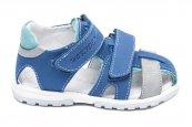 Sandalute baieti hokide picior lat 357 albastru gri 22-27