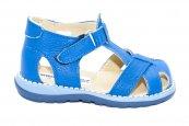 Sandalute baieti piele 346 albastru 18-25