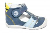 Sandalute copii hokide 273 blu galben cielo 18-24