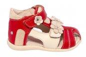 Sandalute fete picior lat hokide 405 rosu bej 18-25