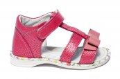 Sandalute fete pj shoes inalte pe glezna Eva roz 20-26
