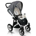 Carucior copii 3 in 1 Bexa Ideal Black