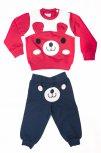 Compleuri copii ursulet 3956 albastru rosu