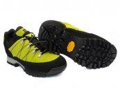 Pantofi goretex copii cu vibram 2200 negru-verde