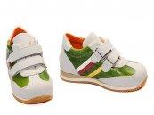 Pantofi copii sport avus 325 alb verde