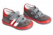 Pantofi copii sport pj shoes Costa gri rosu