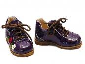 Pantofi copii piele Sirio mov