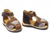 Sandale copii bambbulini maro