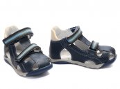 Sandale baieti PJ Shoes Mario blu