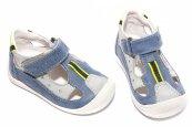 Sandale copii hokide 139 albastru gri
