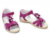 Sandale copii din piele hokide 309 mov