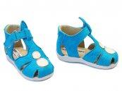 Sandale copii piele 714 turcoaz
