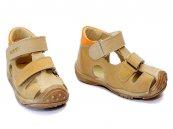 Sandale copii din piele hokide 186 bej