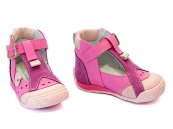 Sandalute copii piele hokide 305 roz